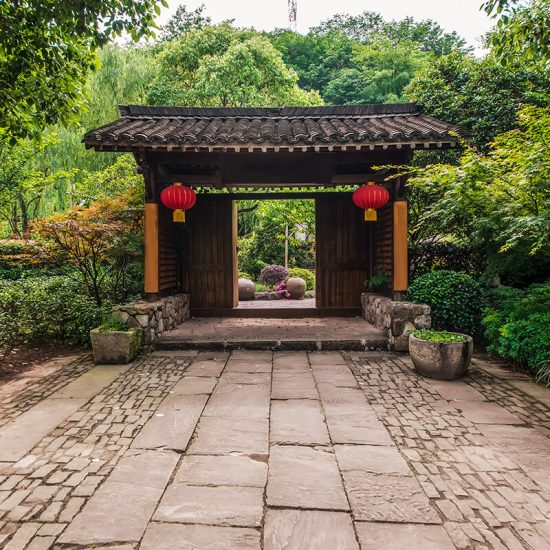 Puerta entrada templo shaolin