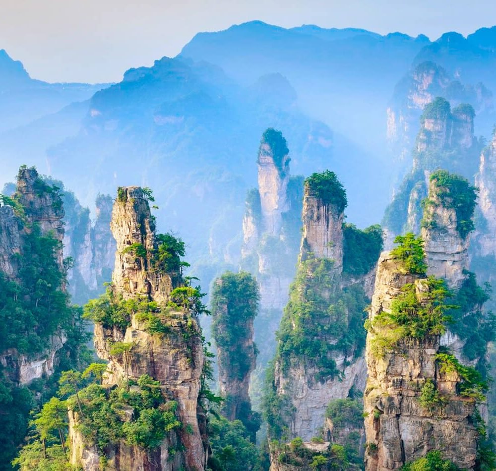 Ruta Avatar 2020 China auténtica