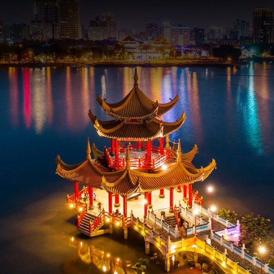 templo china noche